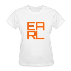 Earl Logo Easy Fit (Orange) - Women's T-Shirt