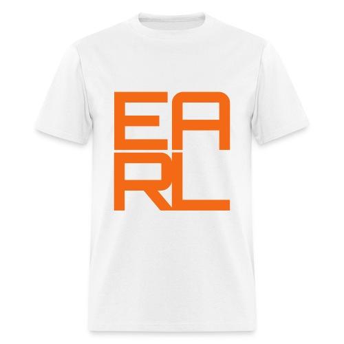 Earl Logo Easy Fit (Orange) - Men's T-Shirt