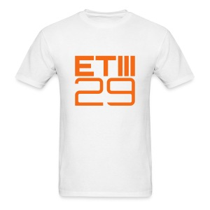 Easy Fit ETIII 29 (White/Orange) - Men's T-Shirt