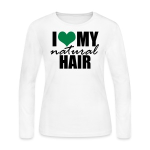 GREEN Long Sleeve Women's T-shirt - Women's Long Sleeve Jersey T-Shirt