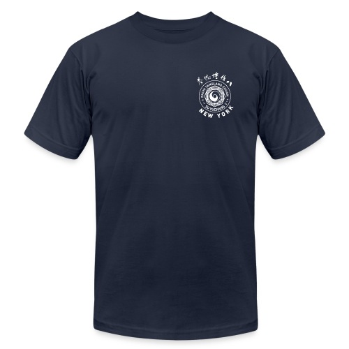 Navy Tee, Monochrome - Men's Fine Jersey T-Shirt