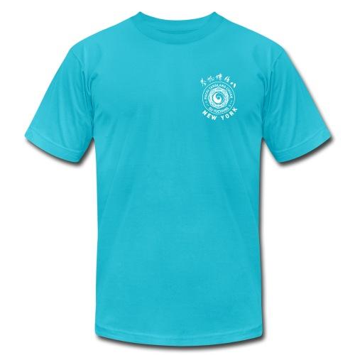 Turquoise AA Tee, Monochrome - Men's Fine Jersey T-Shirt