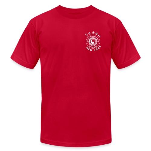 Red Tee, Monochrome - Men's Fine Jersey T-Shirt