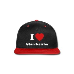 I Heart Starr Hat 1 - Snap-back Baseball Cap