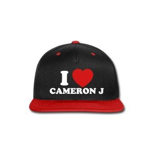 I Heart Cam Hat 1 - Snap-back Baseball Cap