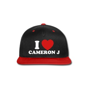 I Heart Cam Hat 1 - Snap-back Baseball Cap