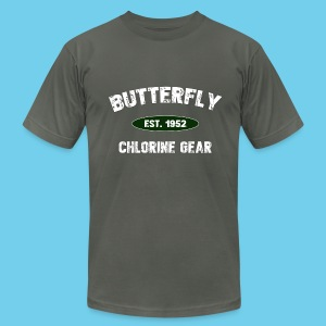 Butterfly est 1952- Keep it Simple Collection- Men's Premium Tee - Men's T-Shirt by American Apparel