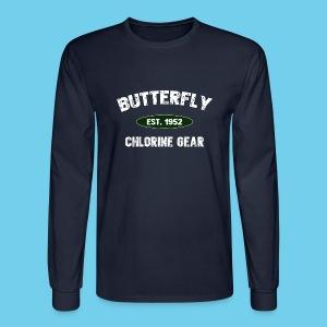 Butterfly est 1952- Keep it Simple Collection- Men's LS Tee - Men's Long Sleeve T-Shirt