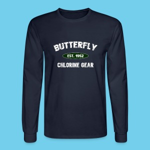 Butterfly est 1952- Keep it Simple Collection- Men's LS Tee - Men's Long Sleeve T-Shirt