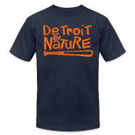 T-Shirts ~ Men's T-Shirt by American Apparel ~ Detroit By Nature