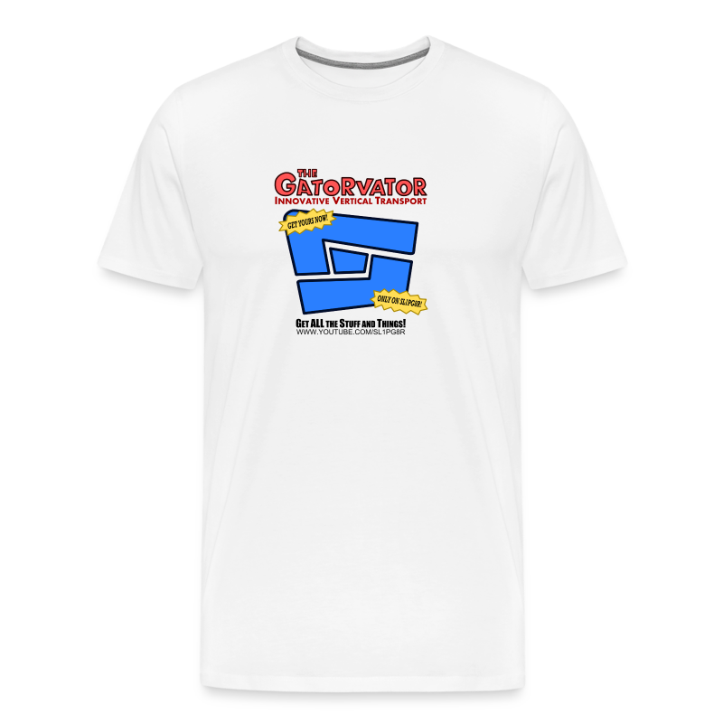 Sl1pg8r GaterVator Tshirt!  - Men's Premium T-Shirt