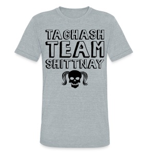 Taghash Team Shittnay - Unisex Tri-Blend T-Shirt