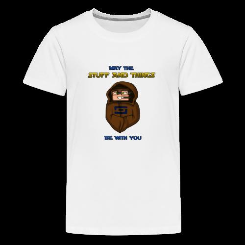Kid's Sl1pg8r #MTSATBWY Shirt - Kids' Premium T-Shirt