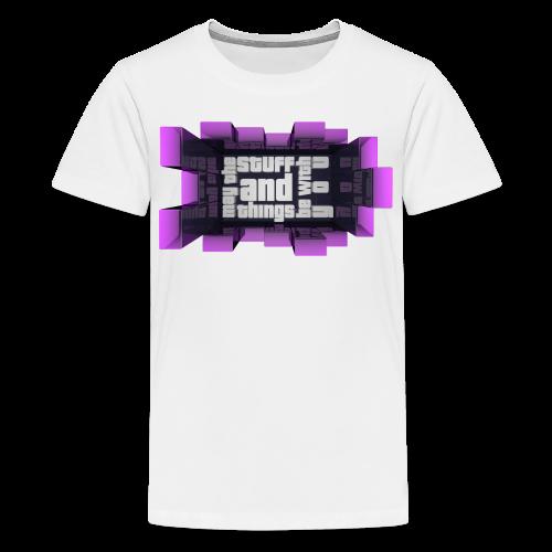 Kid's Sl1pg8r Stuff and Things Shirt - Kids' Premium T-Shirt