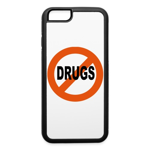 No Drugs IPhone 6 Rubber Case - iPhone 6/6s Rubber Case