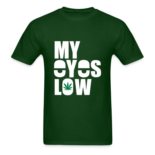 my eyes low - Men's T-Shirt