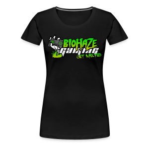 Biohaze Gaming Women's Tee (2015 Edition) - Women's Premium T-Shirt