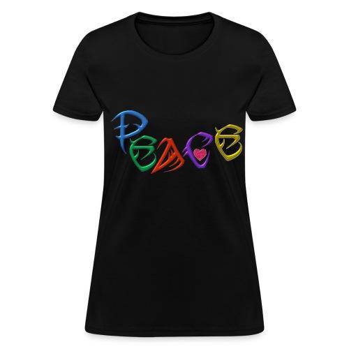 Womens standard peace Viv - Women's T-Shirt