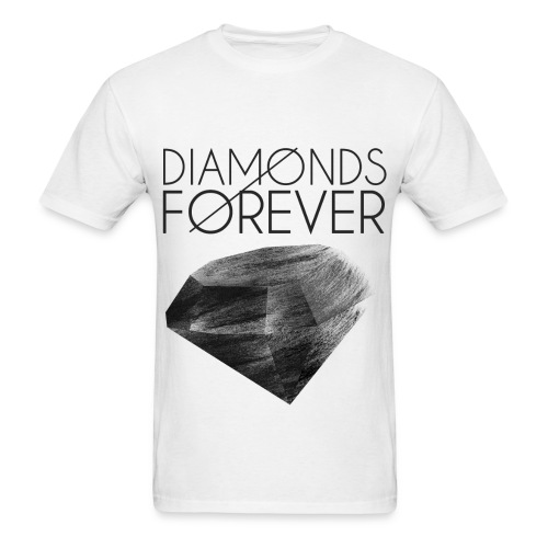 Diamonds Forever - Men's T-Shirt
