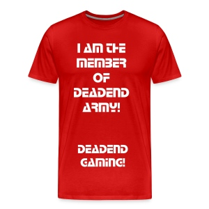 Official DeadEnd Gaming Tshirt - Men's Premium T-Shirt