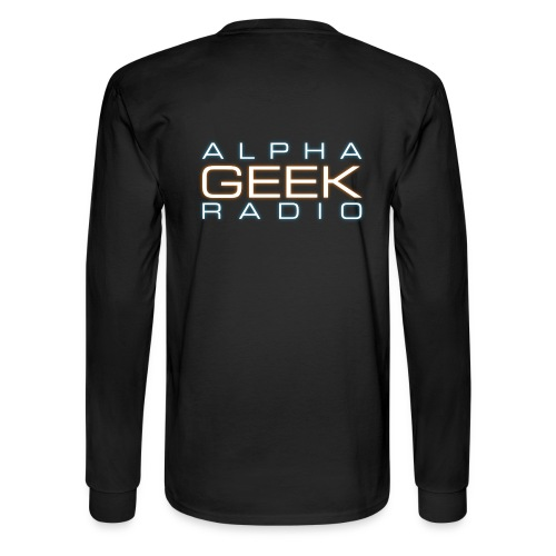 Back Logo - AGR Long Sleeve T-Shirt - Men's Long Sleeve T-Shirt
