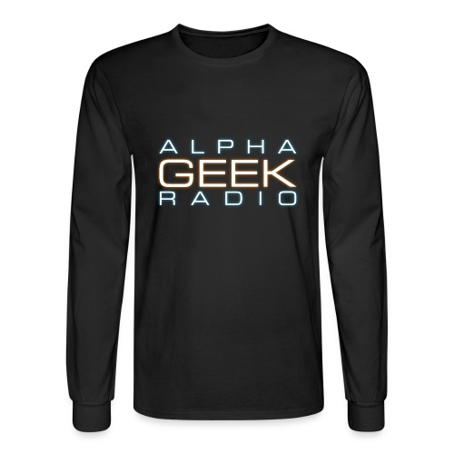 Front Logo - AGR Long Sleeve T-Shirt - Men's Long Sleeve T-Shirt
