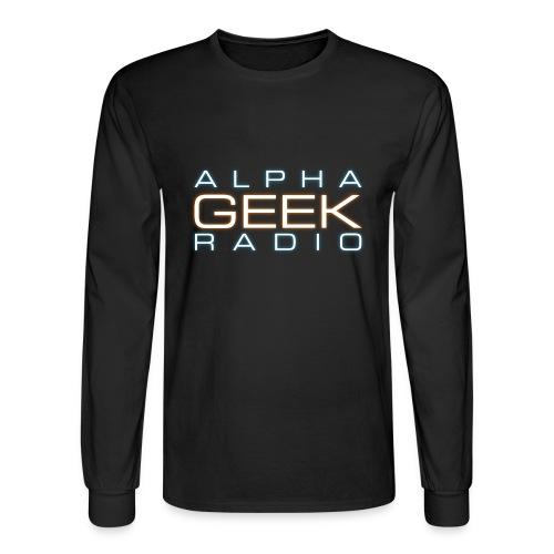 Front Logo - AGR Long Sleeve T-Shirt - Men's Long Sleeve T-Shirt