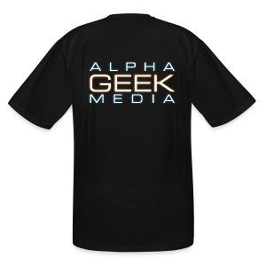 Back Logo - TALL AGM Short-Sleeve T-Shirt - Men's Tall T-Shirt