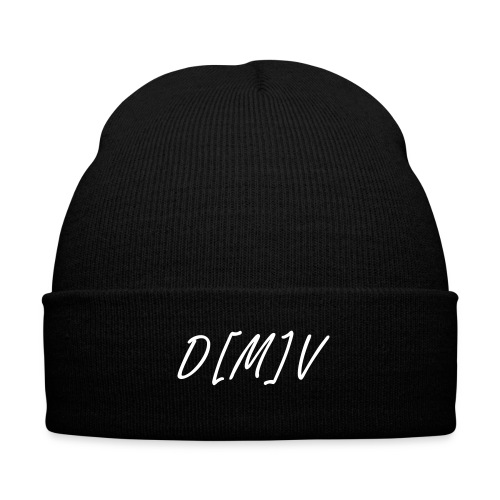 270 D[M]V Cuffed Beanie - Knit Cap with Cuff Print