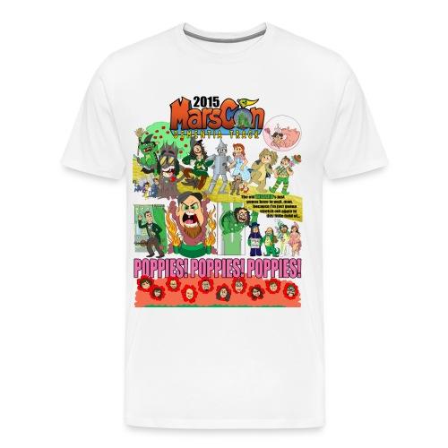 Marscon 2015 mens White New - Men's Premium T-Shirt