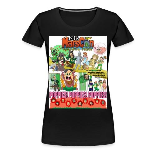 Marscon 2015 womens black New - Women's Premium T-Shirt