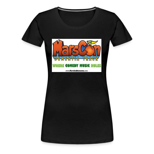 Marscon logo womens black New