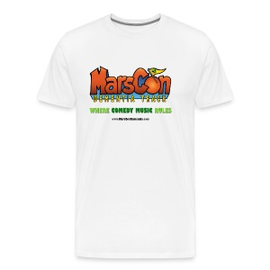 Marscon logo mens white New - Men's Premium T-Shirt