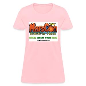 Marscon logo womens pi-nk New - Women's T-Shirt