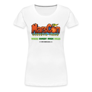 Marscon logo womens white New - Women's Premium T-Shirt