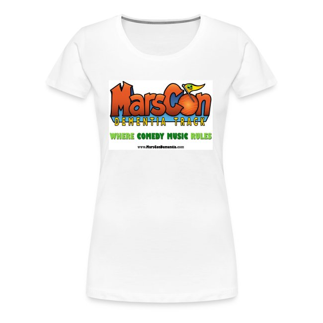 Marscon logo womens white New