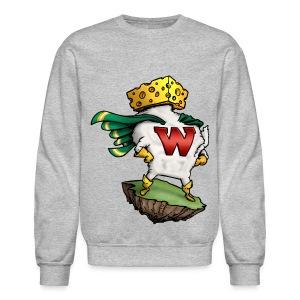 Wisco Man Crewneck - Crewneck Sweatshirt