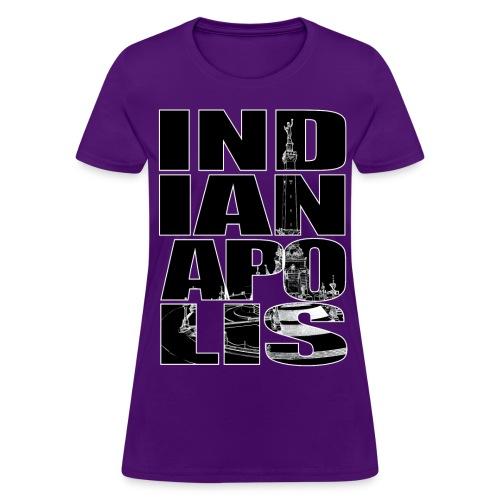 Indianapolis Monument Circle - Women's T-Shirt