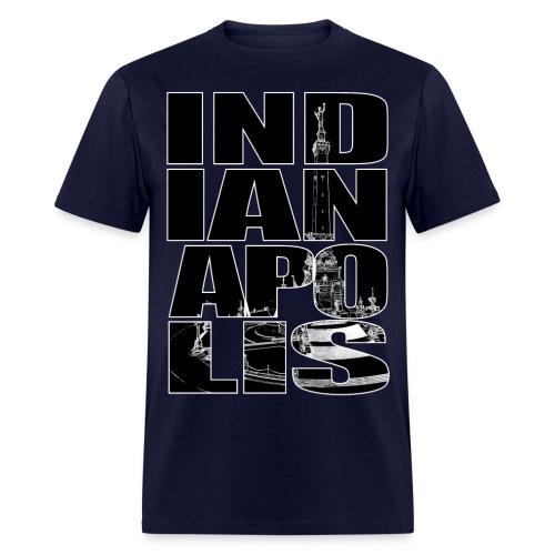 Indianapolis Monument Circle - Men's T-Shirt