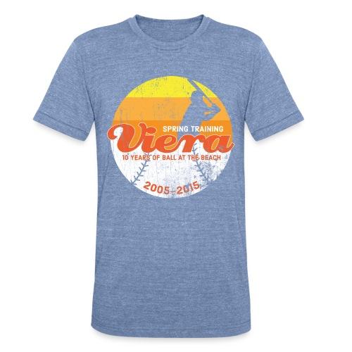 Viera - Blue Tri-Blend - Unisex Tri-Blend T-Shirt