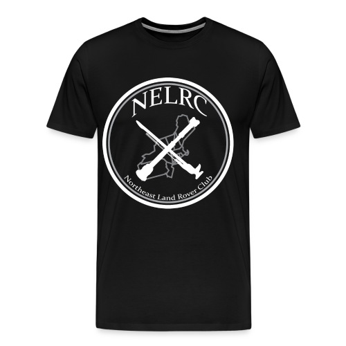 Black Official Circle Logo Shirt - Men's Premium T-Shirt