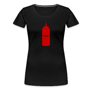 T-Shirts ~ Women's Premium T-Shirt ~ nope - ladies
