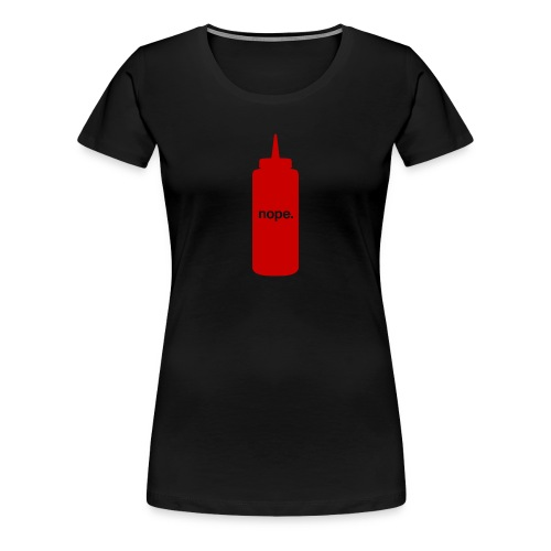 nope - ladies - Women's Premium T-Shirt
