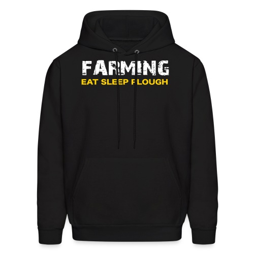 Farming Eat Sleep Plough - Uk Verson - Men's Hoodie