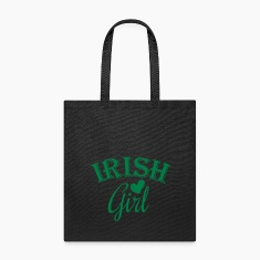 irish girl / irish girl heart Bags & backpacks
