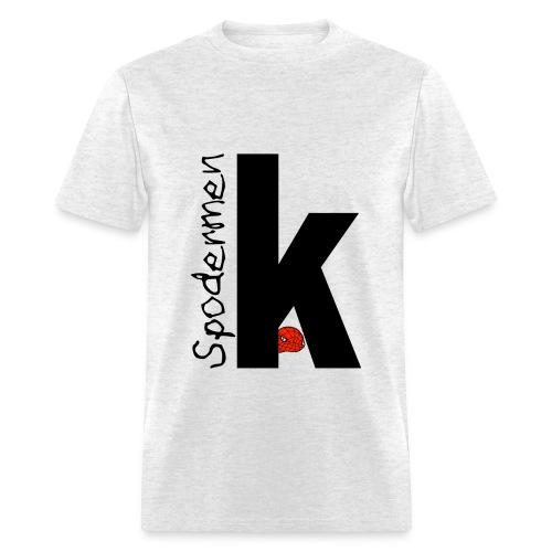 Spodermen K T-Shirt - Men's T-Shirt