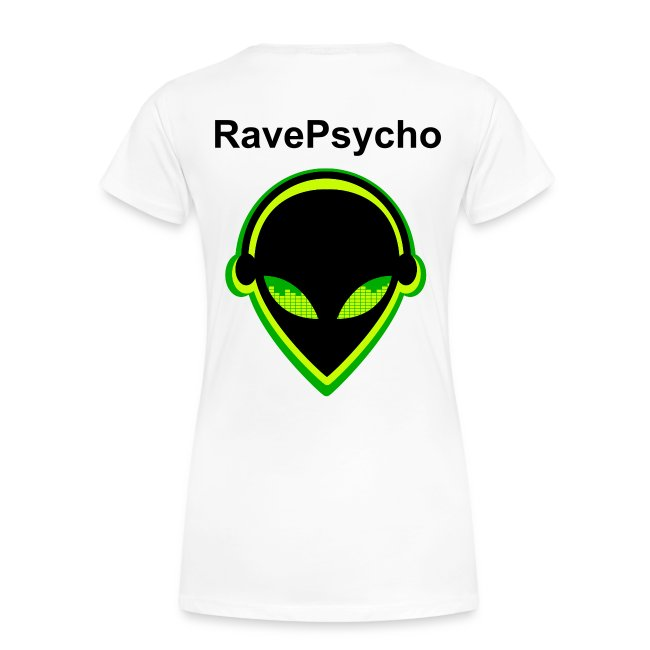 Ravepsycho T - Shirt (Limited Edition) (Womens Shirt #4)