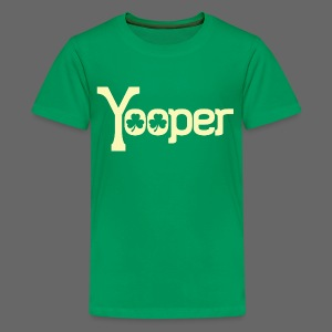 Yooper Irish Shamrocks - Kids' Premium T-Shirt