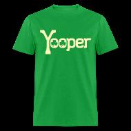 T-Shirts ~ Men's T-Shirt ~ Yooper Irish Shamrocks