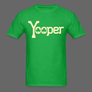 Yooper Irish Shamrocks - Men's T-Shirt